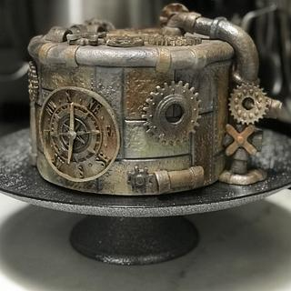 Steampunk Cake - Cake by Susan Russell
