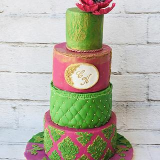 Indian Wedding Cake - Cake by Rimli