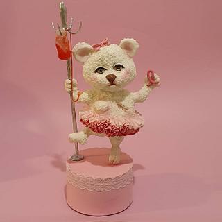 brca (breast cancer) bear - Cake by Netta