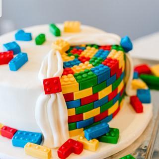 LEGO Grooms Cake