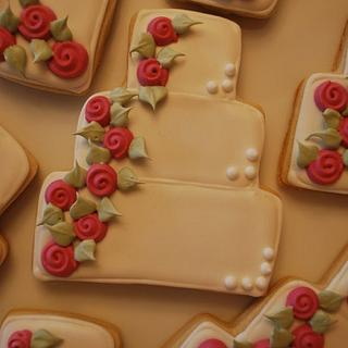 Wedding Cake Cookies!
