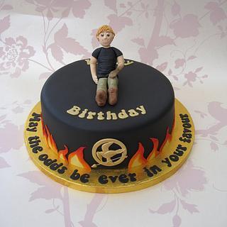 Hunger Games Birthday Cake - Cake by Deborah Cubbon (the4manxies)