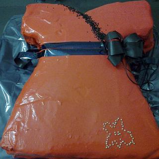 Red Party Dress Cake - Cake by Arte Pastel Repostería y Pastelería