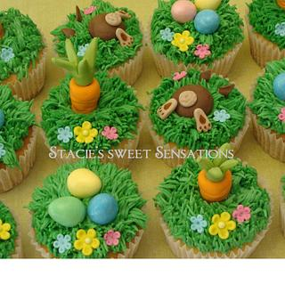 Easter Cupcakes - Cake by Naturepixie