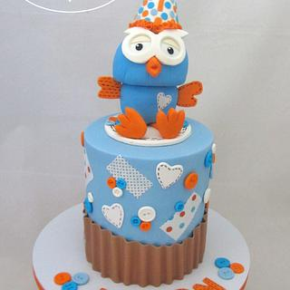 Hoot Hoot - Cake by Rose, Sweet Surprise Cakes