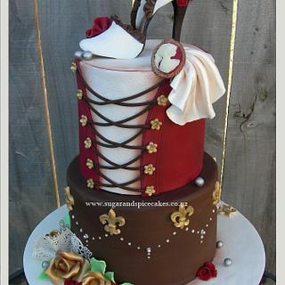 Moulin Rouge Cake ~ - Cake by Mel_SugarandSpiceCakes