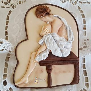 """A """"Me"""" moment ....... - Cake by The Cookie Lab  by Marta Torres"""
