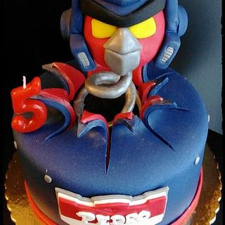Angry birds optimus prime transformers