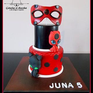 Miraculous Ladybug cake - Cake by Génoise et chocolat