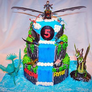 Train your dragon Cake