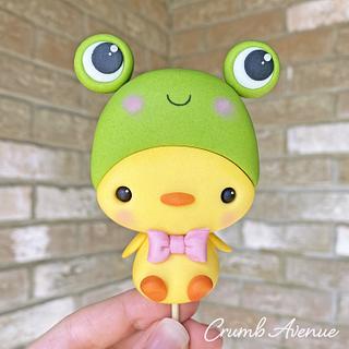 Frog Duck Cake Topper ;)