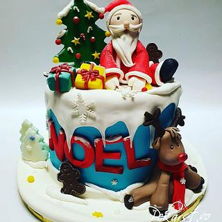 X-mas birthday cake!🎄❤ - Cake by Ana