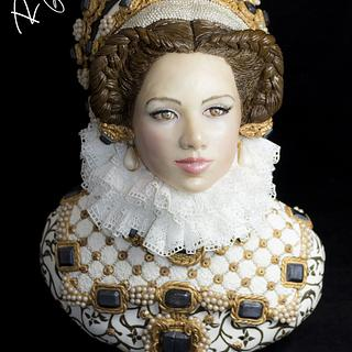 ISABEL OF AUSTRIA (The Royal-An international Cake Challenge)