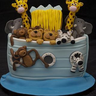 Noah's Ark cake - Cake by Kelly