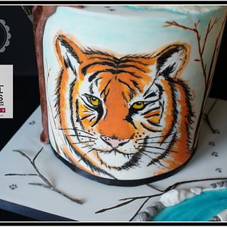 Animal Right Collaboration-Siberian Tiger