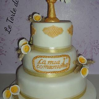 The comunion cake 2