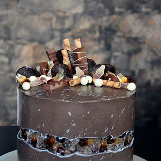 Boy's birthday cake