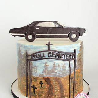 Supernatural Cake Collaboration Season 5 - Cake by Sweets and Treats by Christina