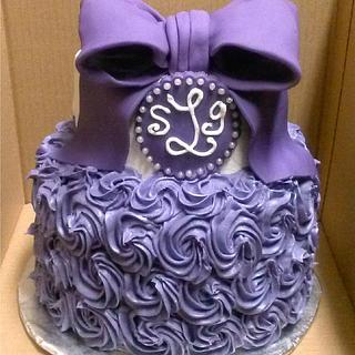 A passion for purple - Cake by Sharon Cooper