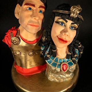 Cleopatra & Marc Anthony @Egypt Land of Mystery
