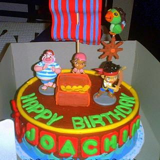 Jake and the Neverland pirates - Cake by kylieskeyk