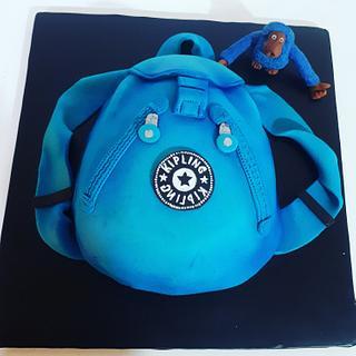 Kipling purse cake