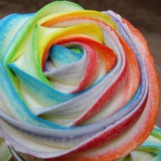 Rainbow cupcake  - Cake by KaysCakesBristol
