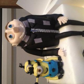 Gru and his minions despicable me