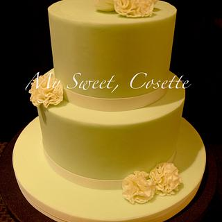 Carnation Cake - Cake by Cosette