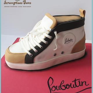 Louboutin Trainer Cake