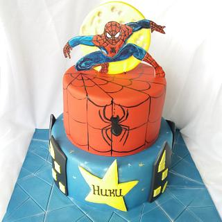 Spiderman cake - Cake by Nadi Ivanova