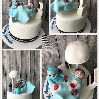Surgery cake