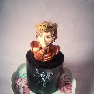 Cersie: Game of thrones edible cake toppers