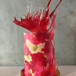 Cake for an Artist!