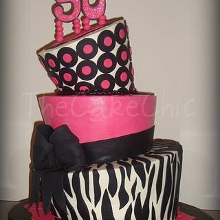 Fabulous 50 Cake - Cake by Misty