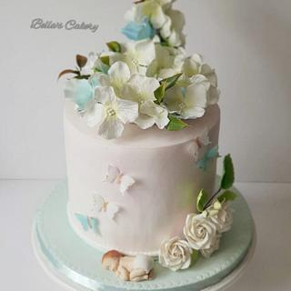 Baby shower cake! - Cake by Bella's Cakes