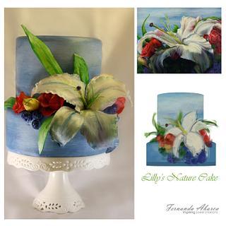 Lilly's Garden Cake