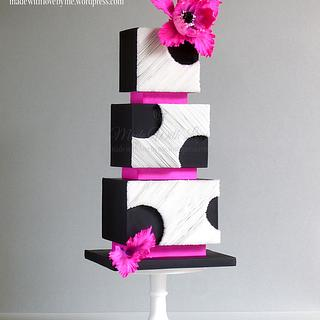 Cut Away Wafer Paper Cake