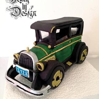Car - Cake by Jennifer