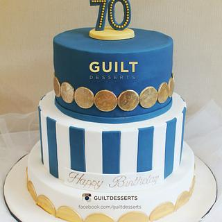 Blue and Gold 70th