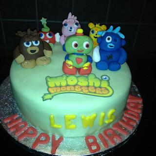 Moshi Monsters Cake - Cake by 1897claire