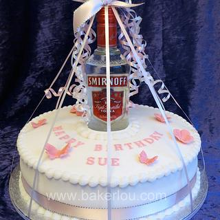 Vodka bottle Cake