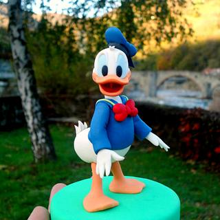 Donald Duck Fondant Figure  - Cake by Isabella Coppola di Milky Way