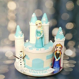 Frozen Cake - Cake by Urvi Zaveri
