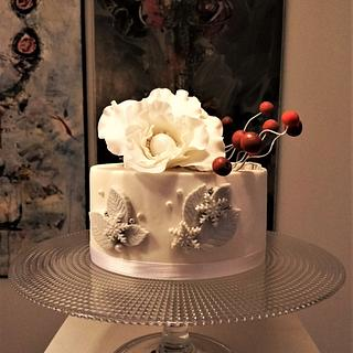 Christmas - 70 Birthday cake