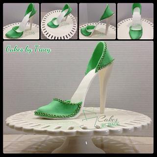 High Heel Fondant Shoe - Cake by Tracy