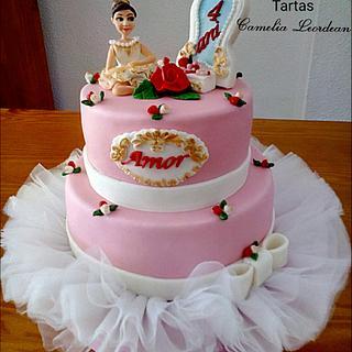 BALLET DANCER CAKE FOR AMOR