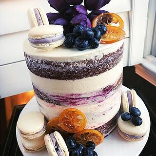 Lemon Blueberry Bliss - Cake by Dozycakes