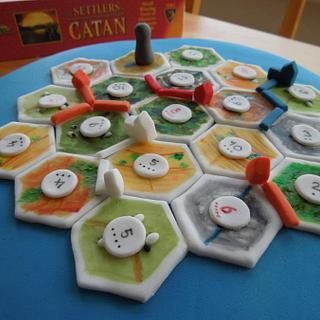 Settlers of Catan Cake