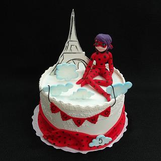 Miraculous : Ladybug - Cake by Diana